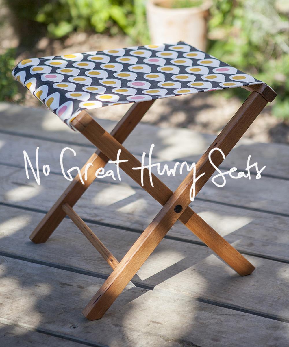 No Great Hurry Seats