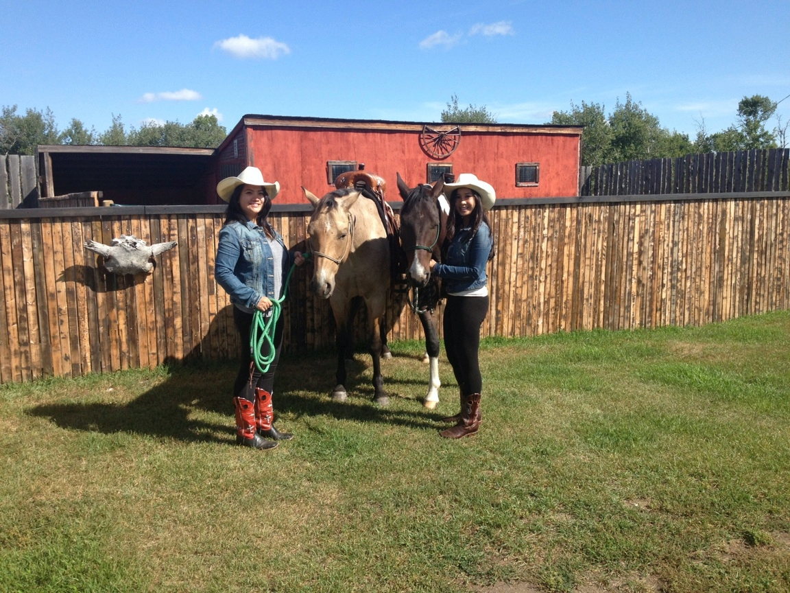 Cowgirls on a Ranch