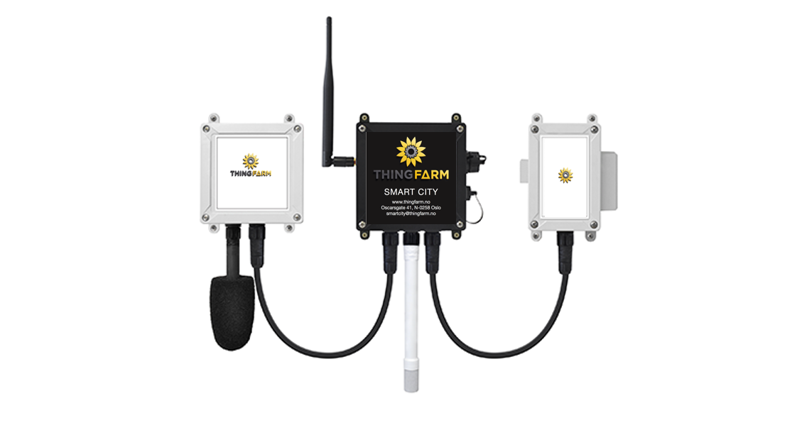 Advanced Wireless Smart Air Sensors sending Real-Time Data Through 4G & Powered By Solar Panels - Delivering Air-Quality Sensors in all parameters from CO, CO2, NO2, PM1/2,5/10 and more