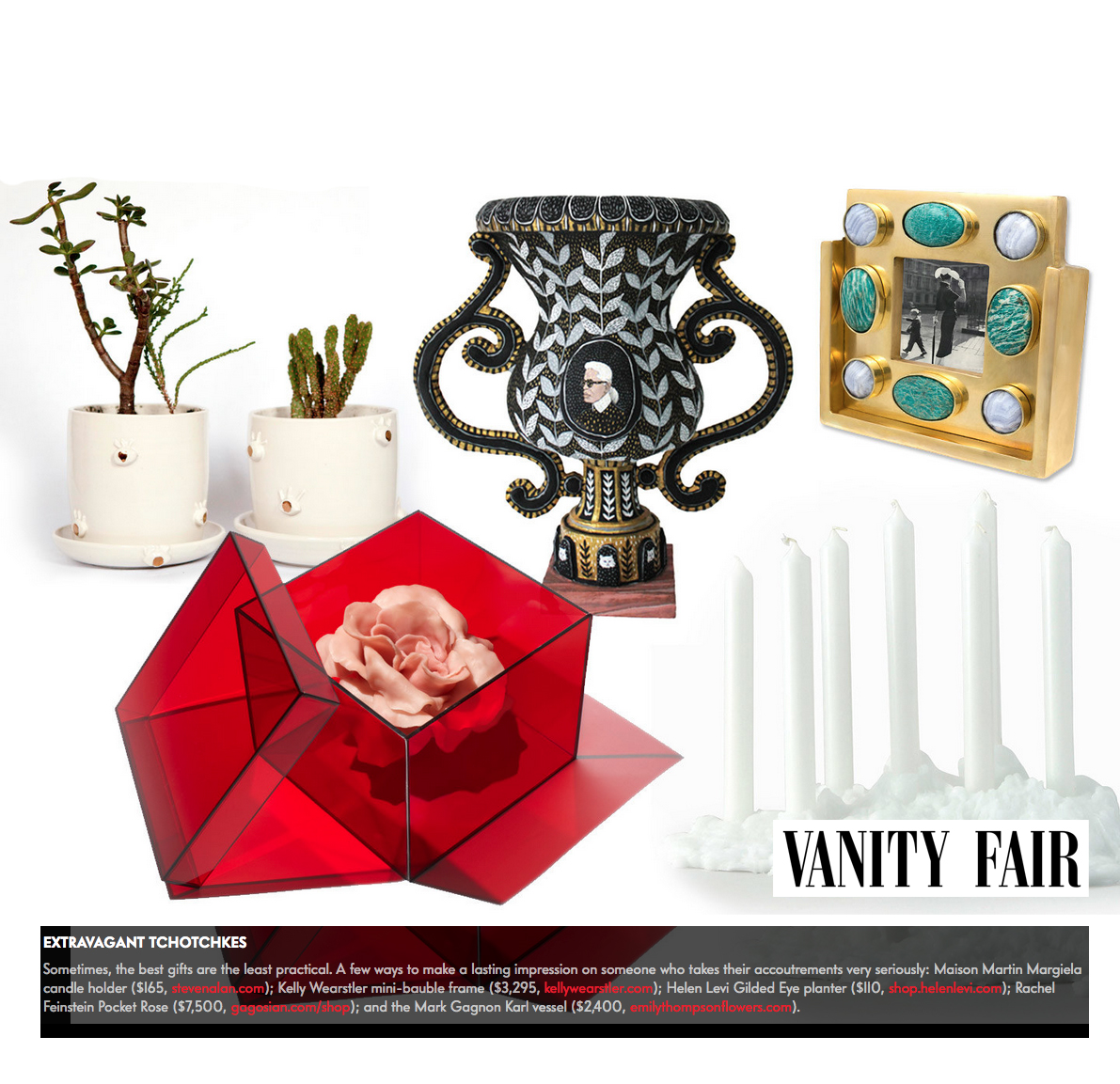 Vanity Fair Holiday Gift Guide 2015