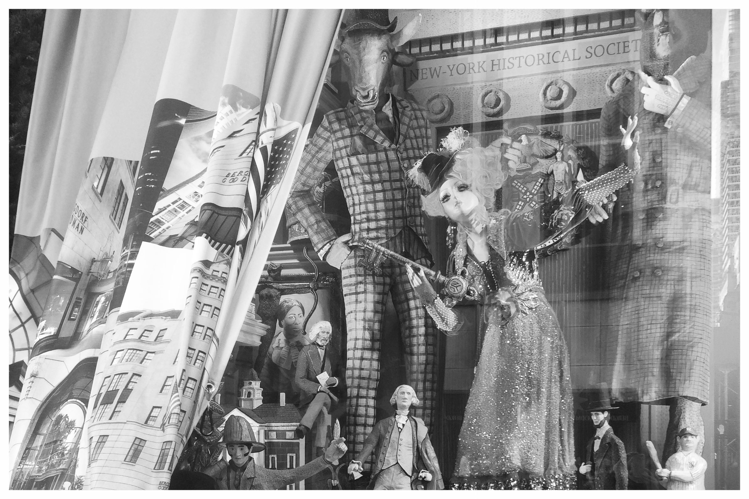 Bergdorf's Holiday Window Unveiling