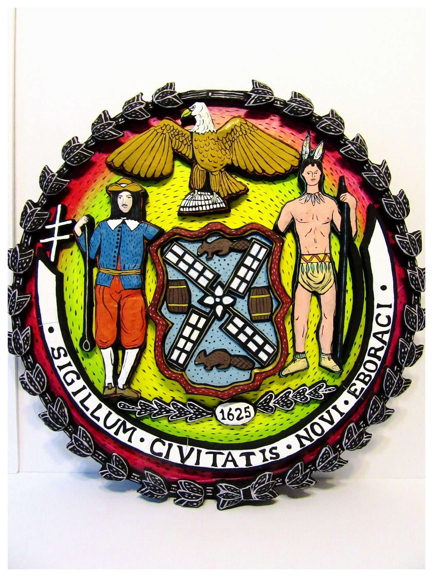 New York State Seal relief