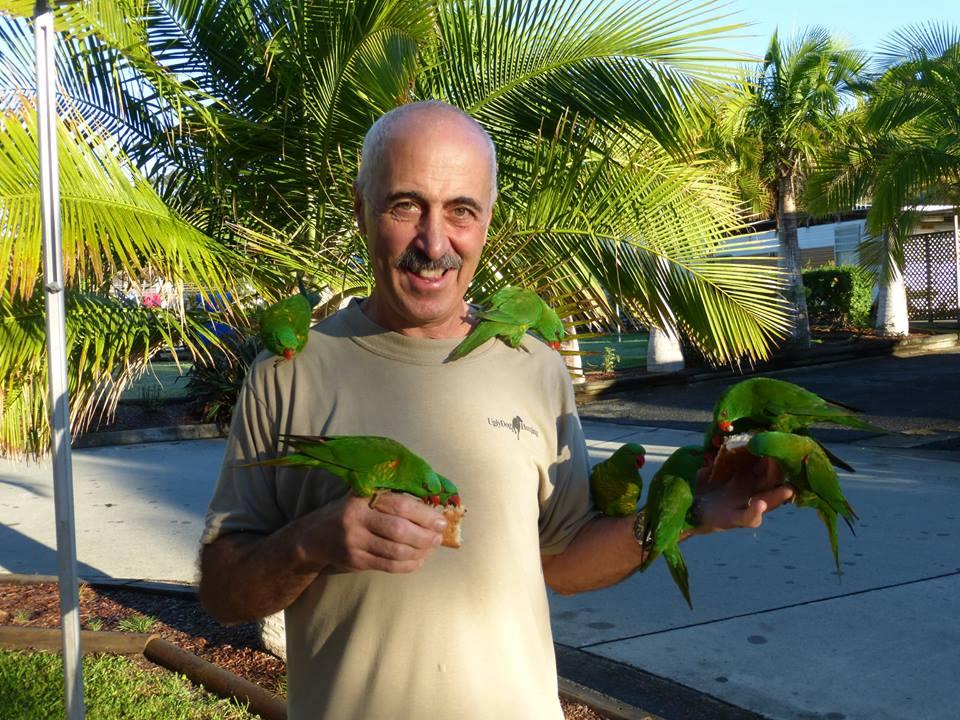 Riccardo with birds.jpg