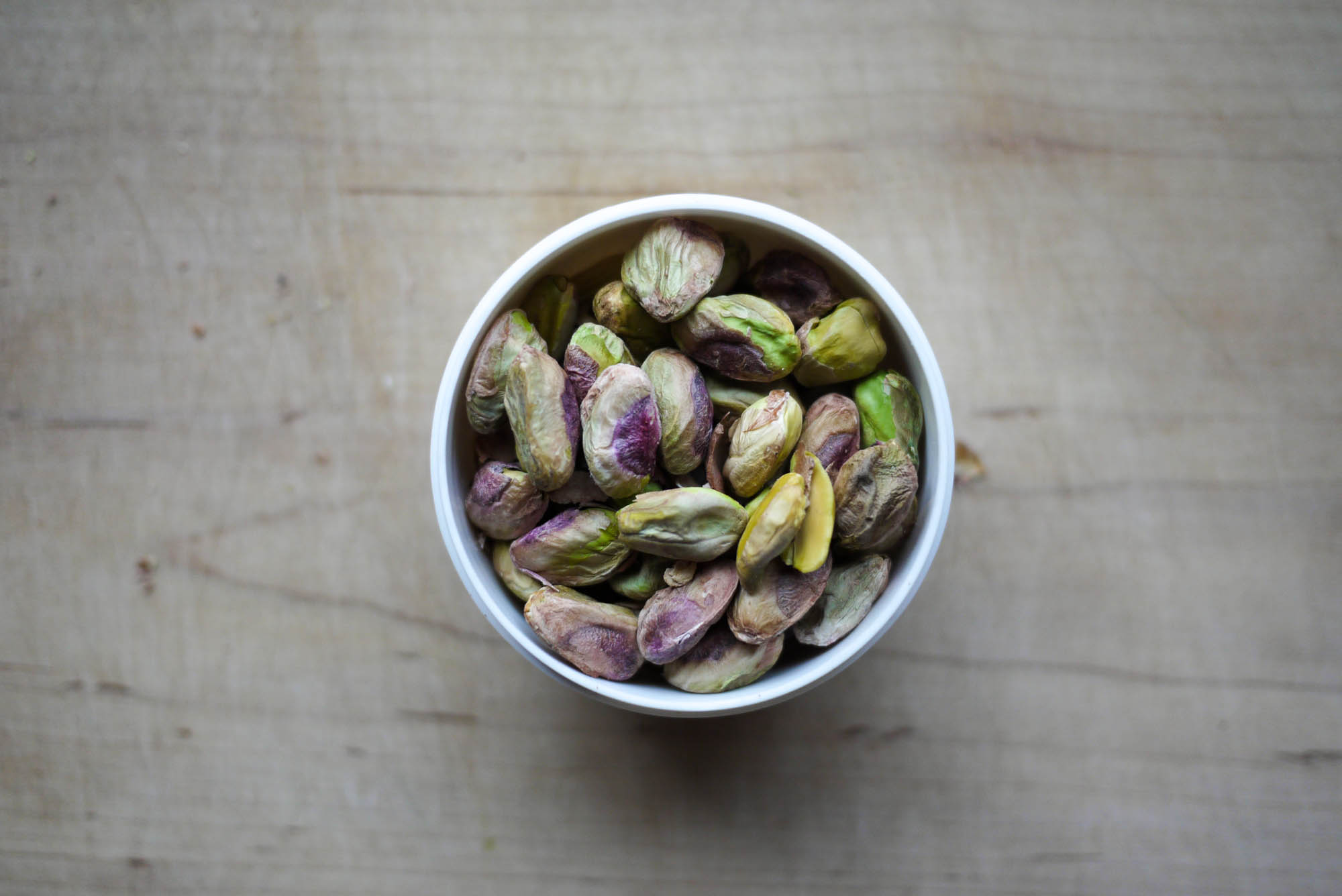 Beautiful, unsalted Pistachios.