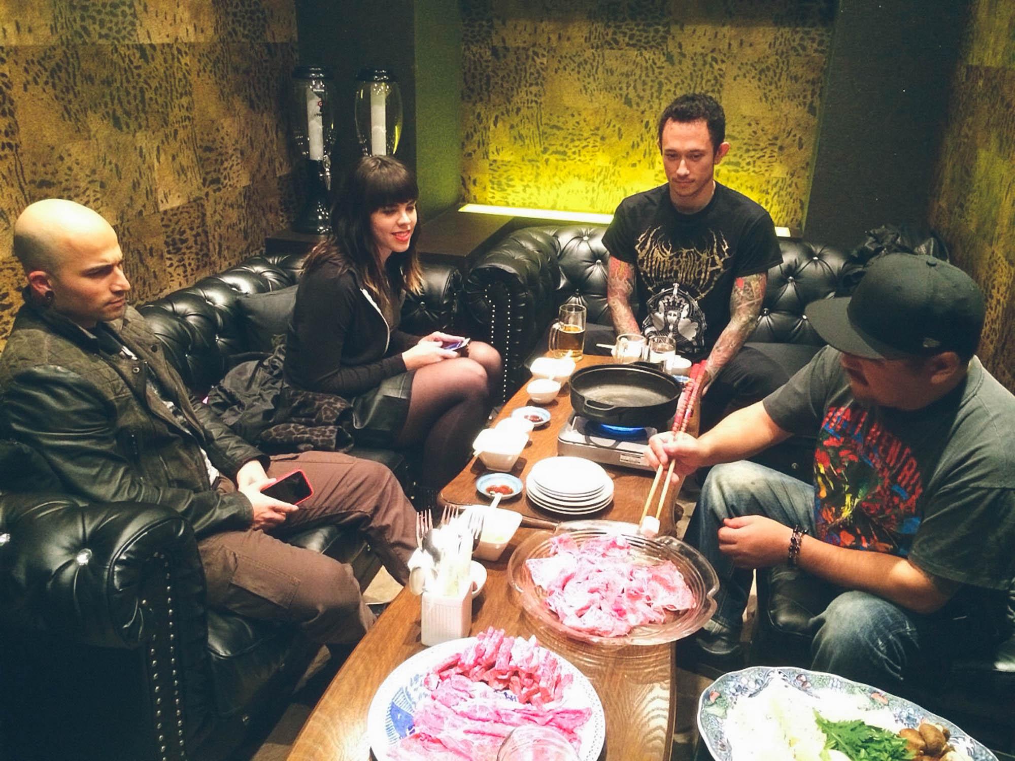 Sukiyaki in Rock Rock Bar by Seiji