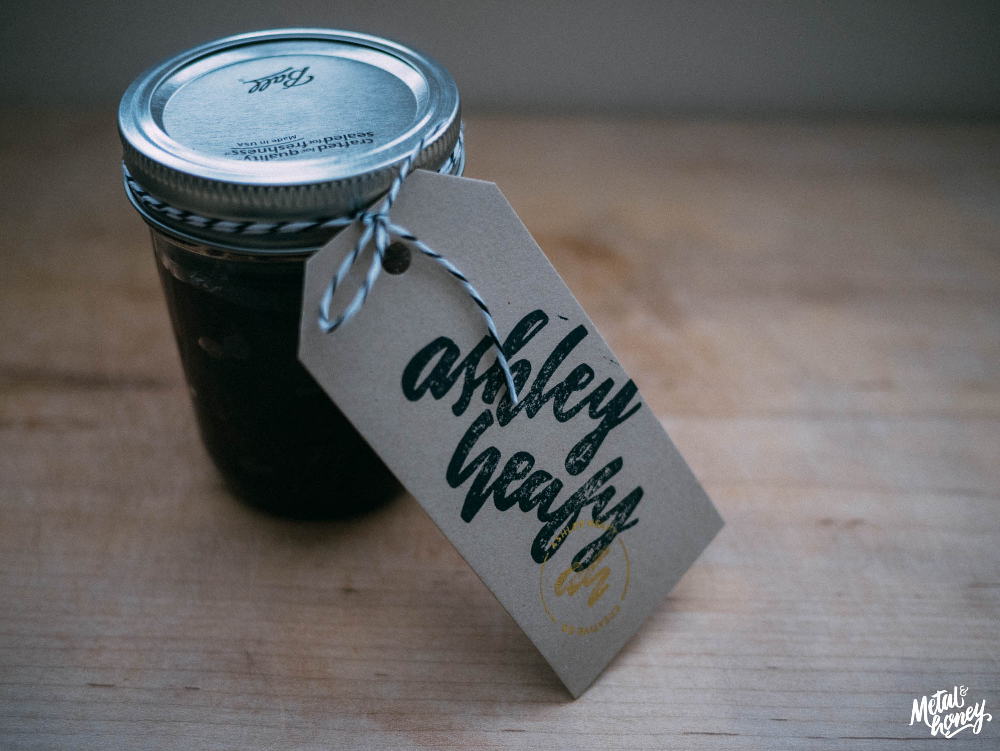 Cherry Vanilla Bourbon Jam | metalandhoney.com