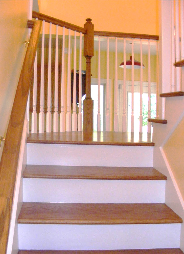 After: new stair