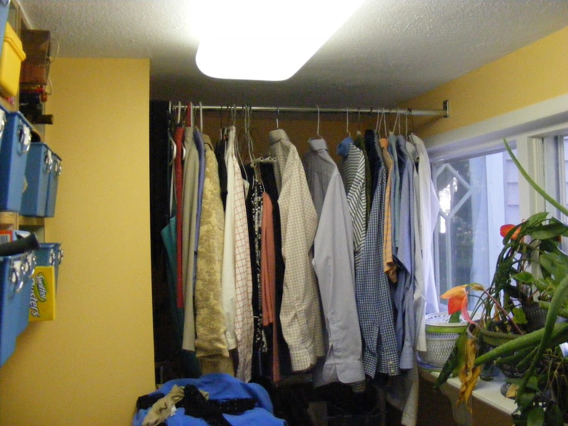 Before: laundry