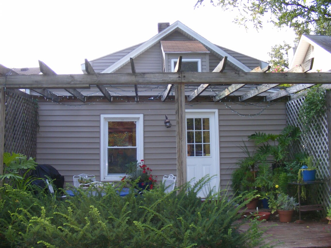 Before: rear elevation