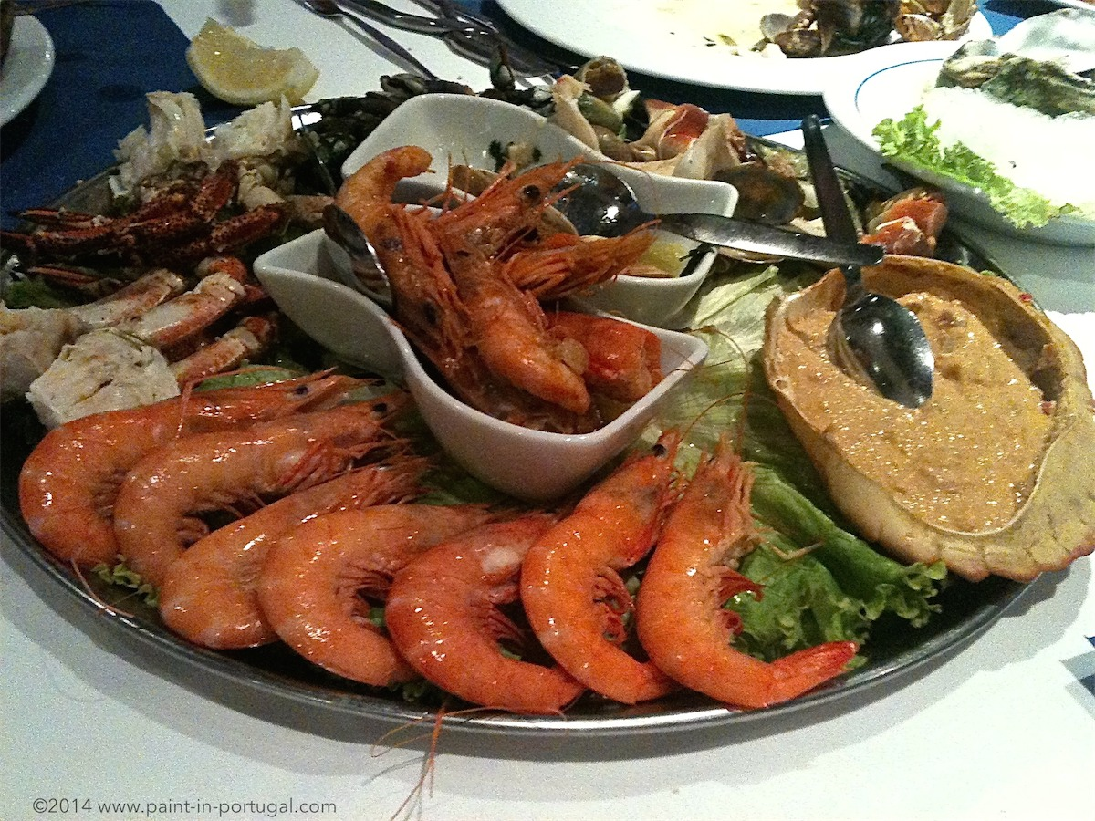 Seafood in Cascais