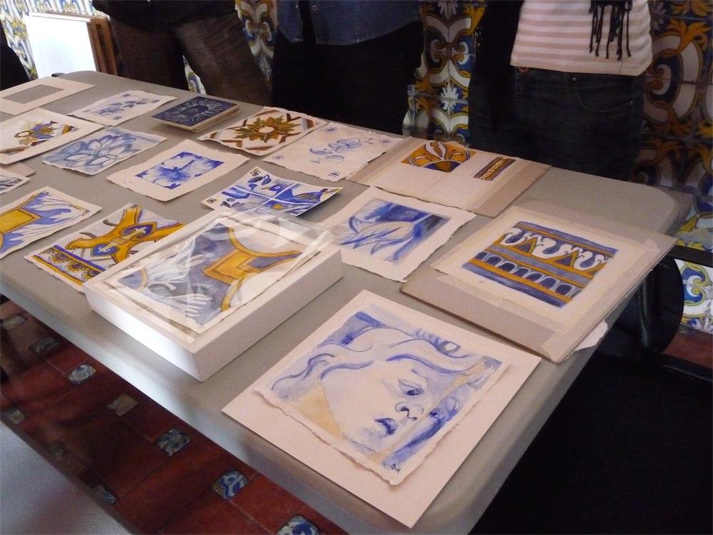 Workshop Watercolour, Casa Santa Maria, Cascais