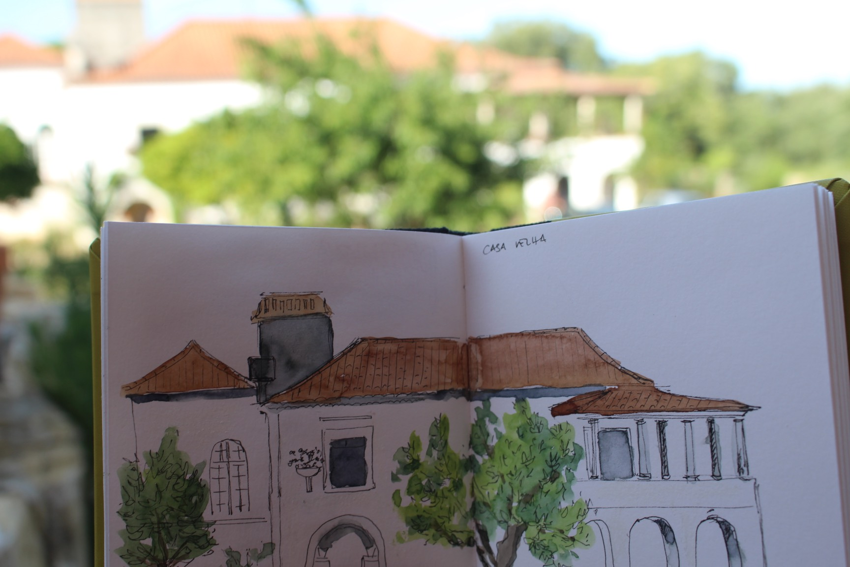 Ourém - Casa Velha Retreat Sketches and Graphic Diaries