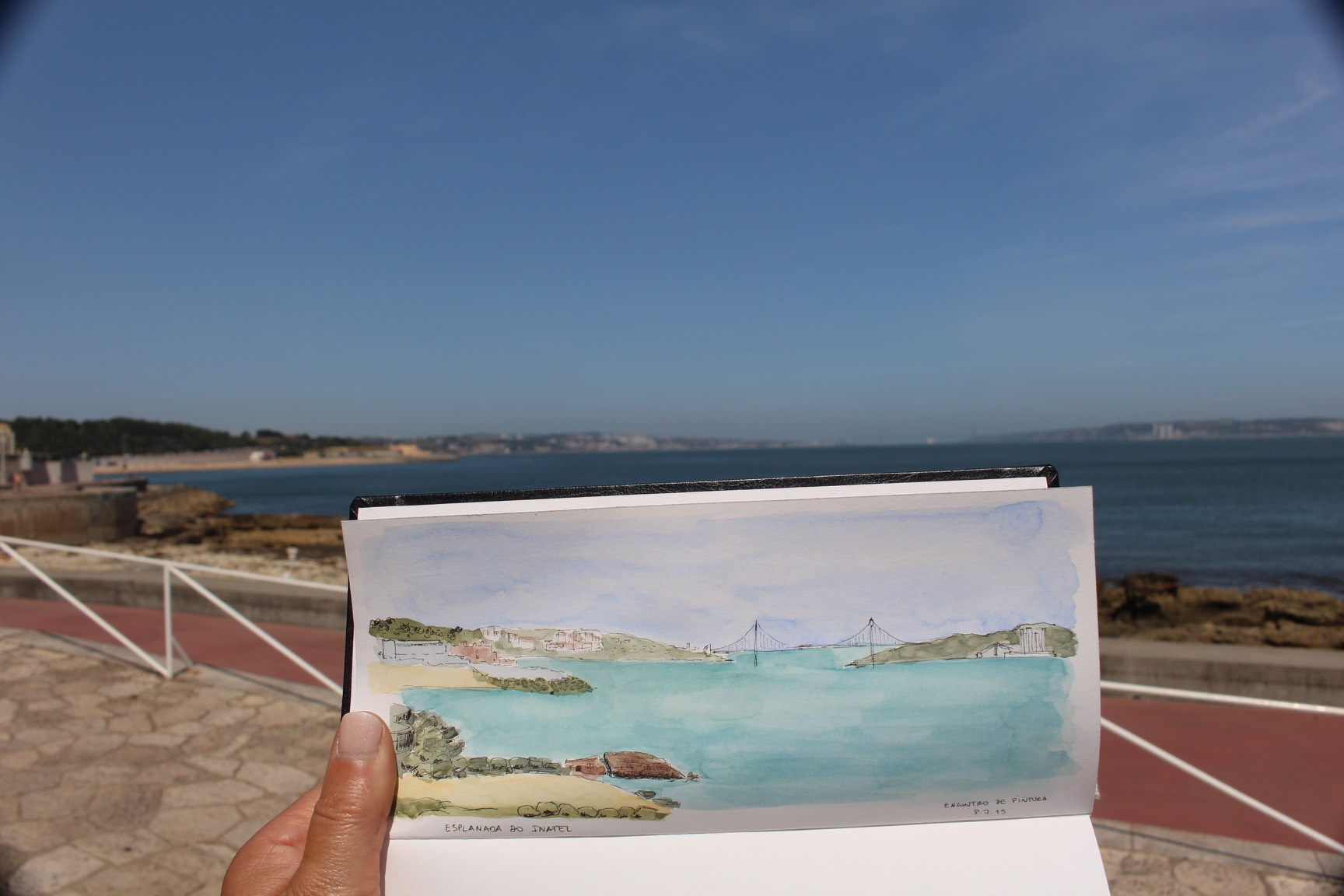 Oeiras - INATEL Outdoor Painting