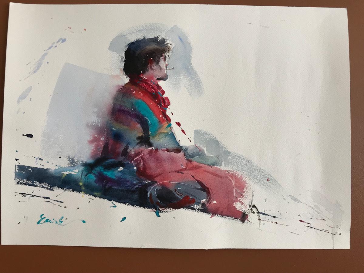 Painting Holiday 20180909 Eudes Correia