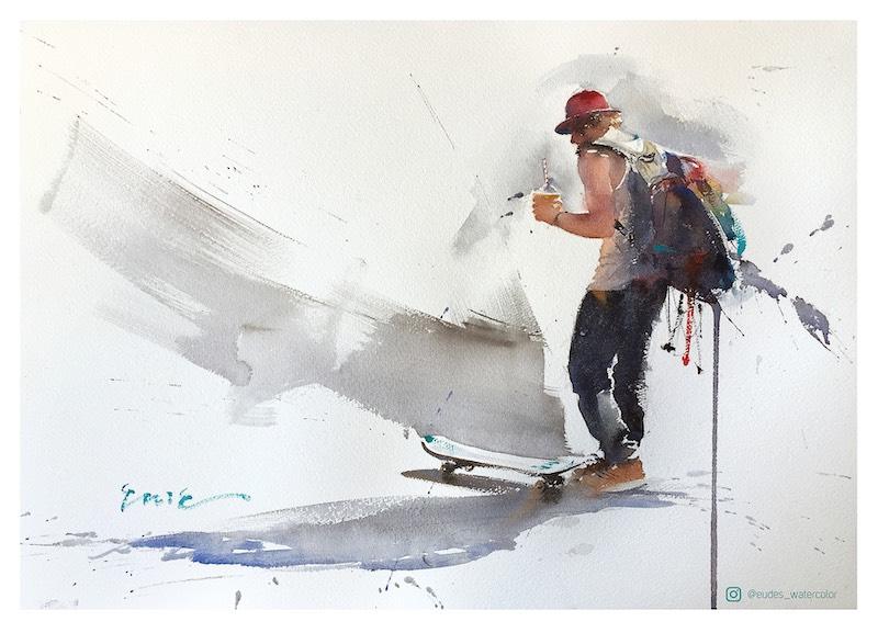 Eudes Correia - Skater