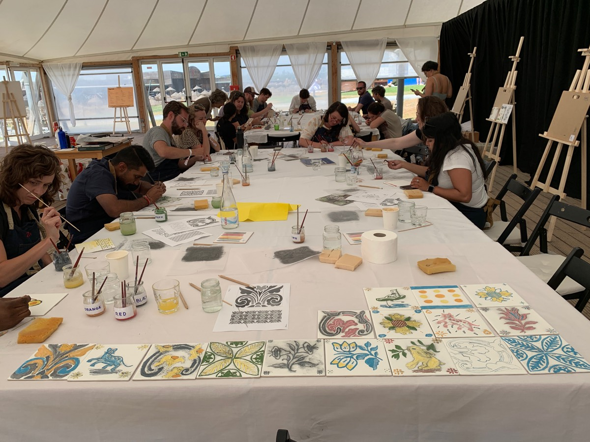 Spotify Design - Tiles Workshop at Zmar Eco Resort May 2019