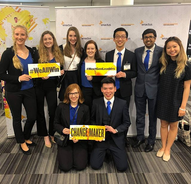 Enactus St Andrews delegates in London at the Enactus National Expo.  It is so inspiring to not only present our projects but see what groups around the UK are doing and gain inspiration on how social enterprise can improve livelihoods and make a difference both nationally and internationally. #enactusnationalsuk #enactusuk #enactussta #standrewsstudents #socialenterprise #NextGenLeaders