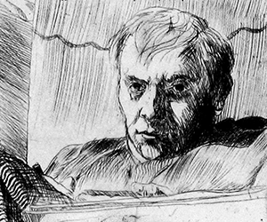 Self-Portrait, Brooding