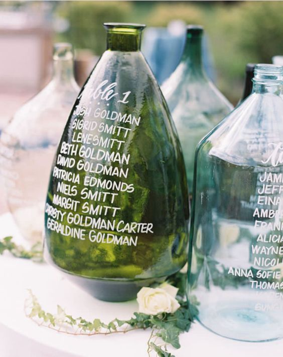 Place Card Vases