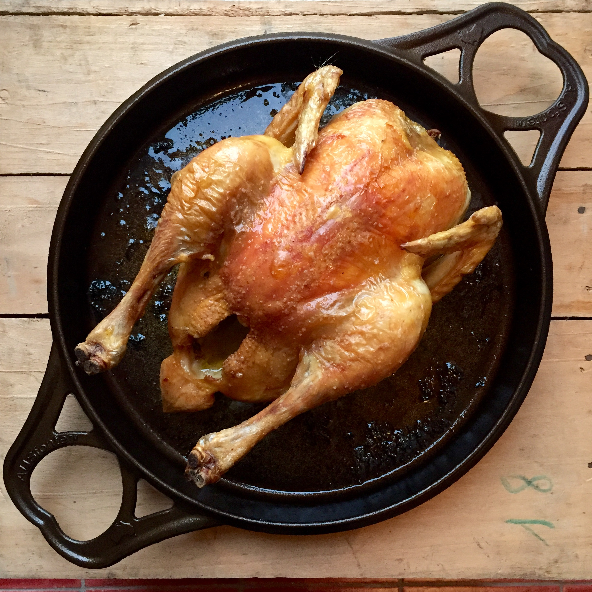 SOLIDTEKNICS cast iron AUSfonte BIGskillet 32cm chook.jpg