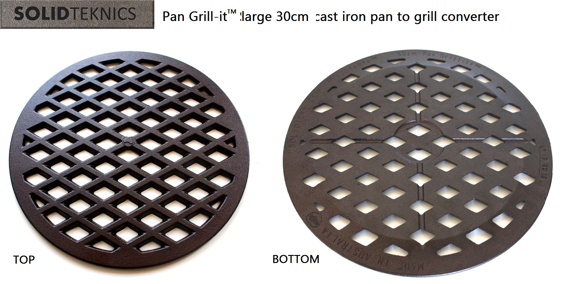 Solidteknics AUSfonte Pan Grill-it Large 30cm cast iron grilling insert back 12-6-15 1200x799.jpg