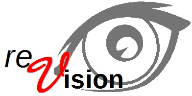 reVision's logo that took shape when business services were added to the mix in 2014.
