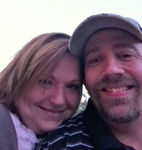 Christie and her husband Mat