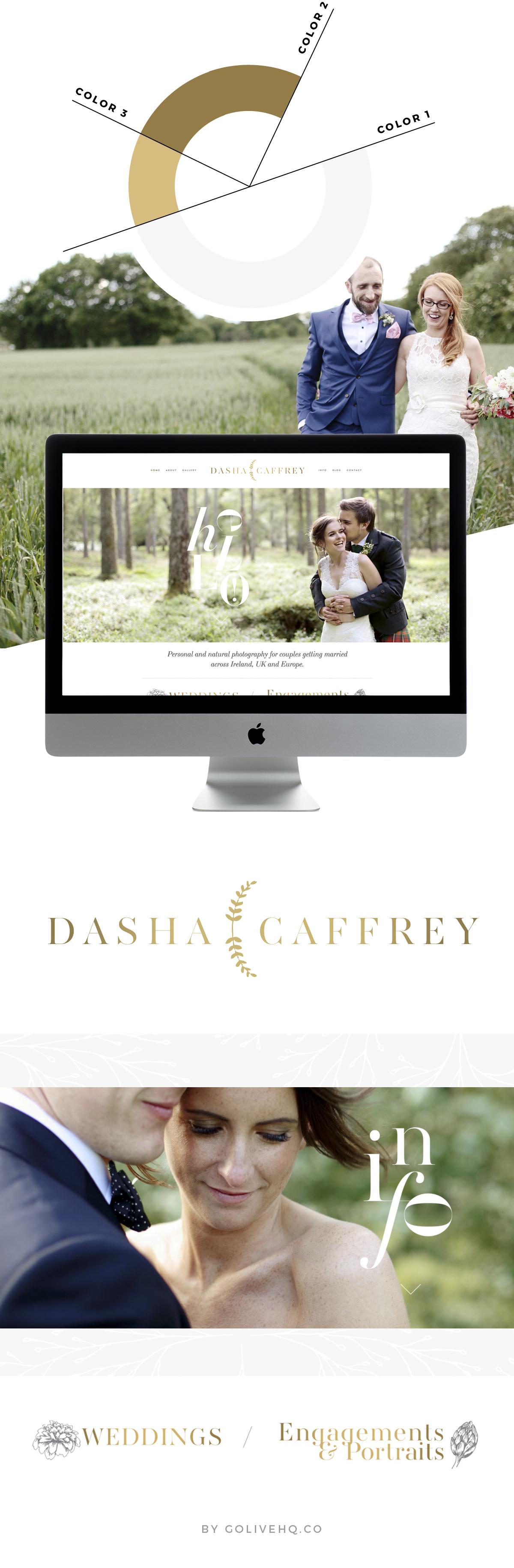 floral website design  |  by GOLIVEHQ.CO