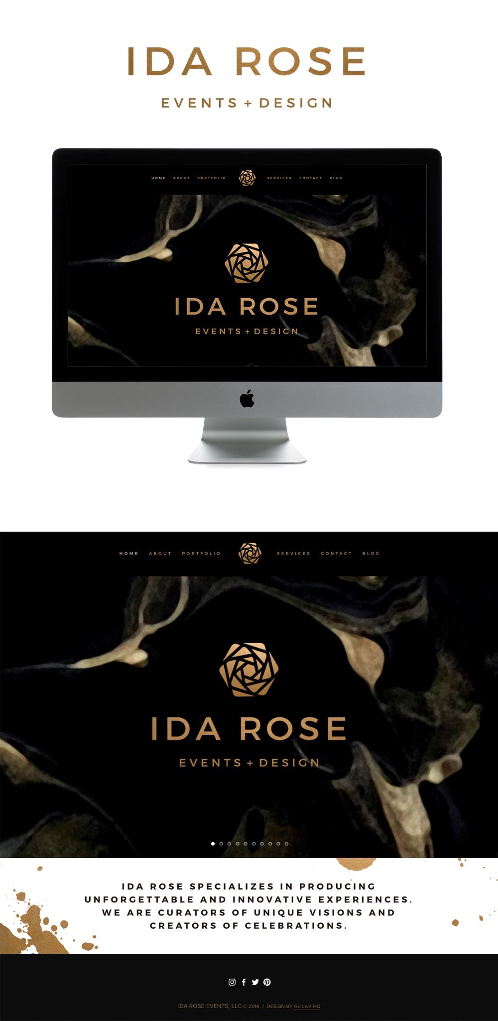 modern sophisticated squarespace website design | design by: golivehq.co
