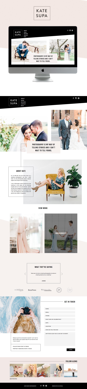 clean, minimal yet bold showit website design | designed by: golivehq.co