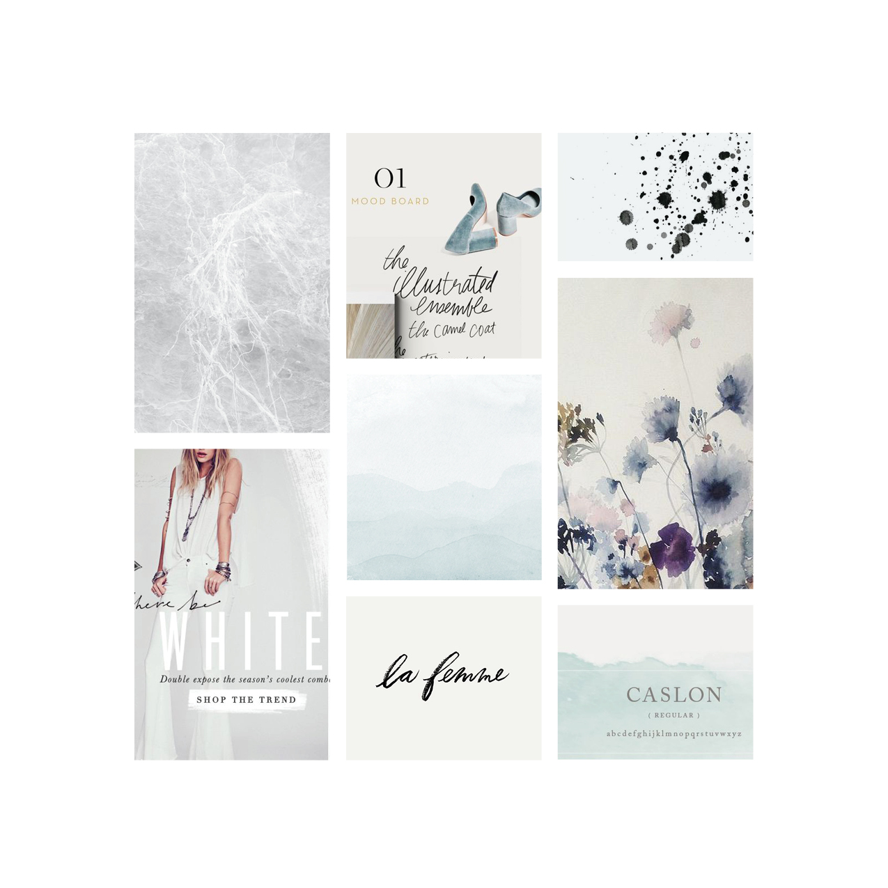 Free People inspired mood board | Go Live Hq