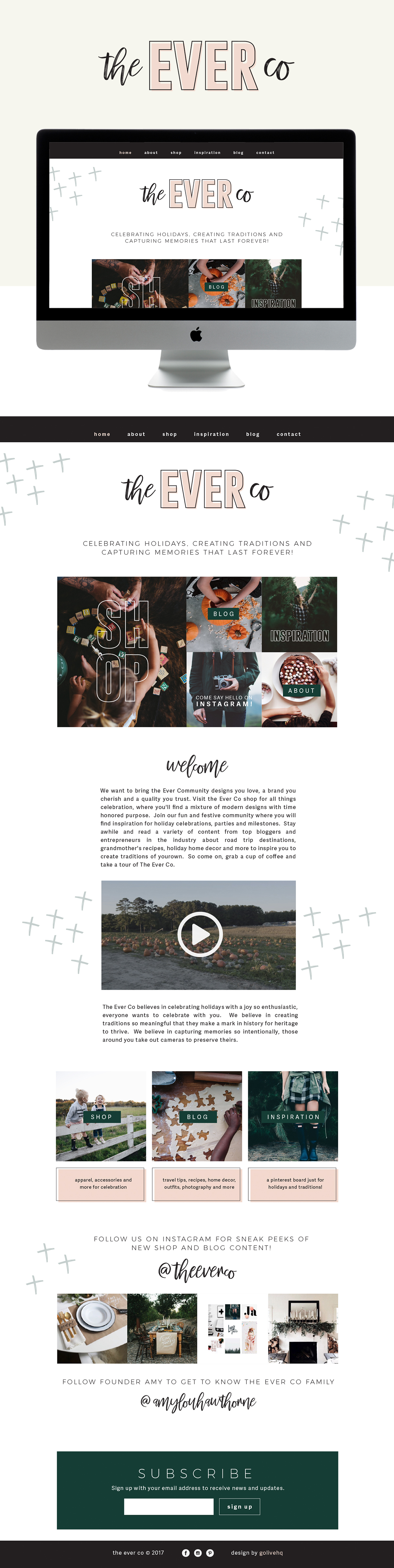 The Ever Co Is LIVE on Squarespace | By Go Live HQ