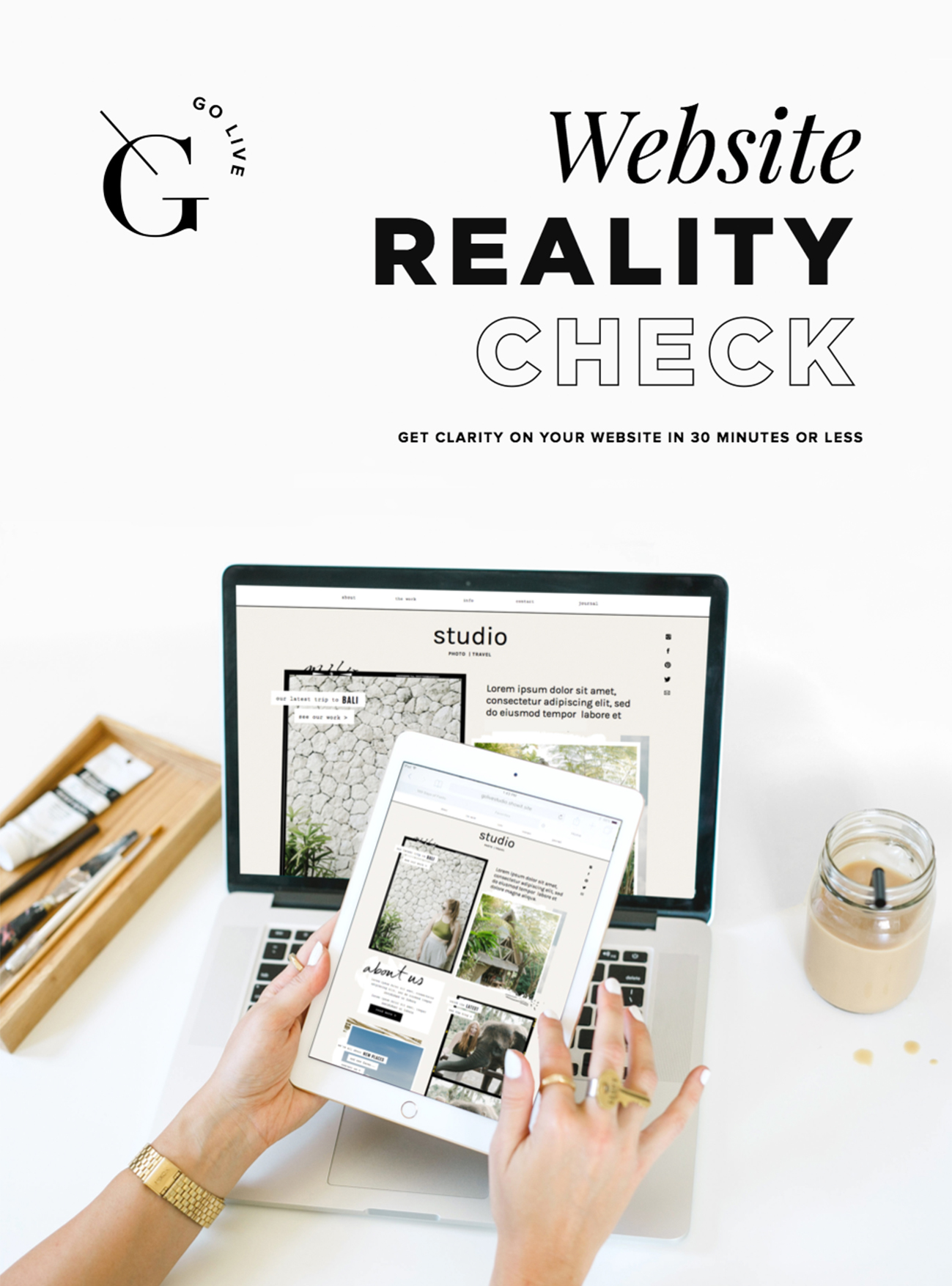 Our Best Tool For Evaluation Your Site: The Website Reality Check | By Go Live HQ
