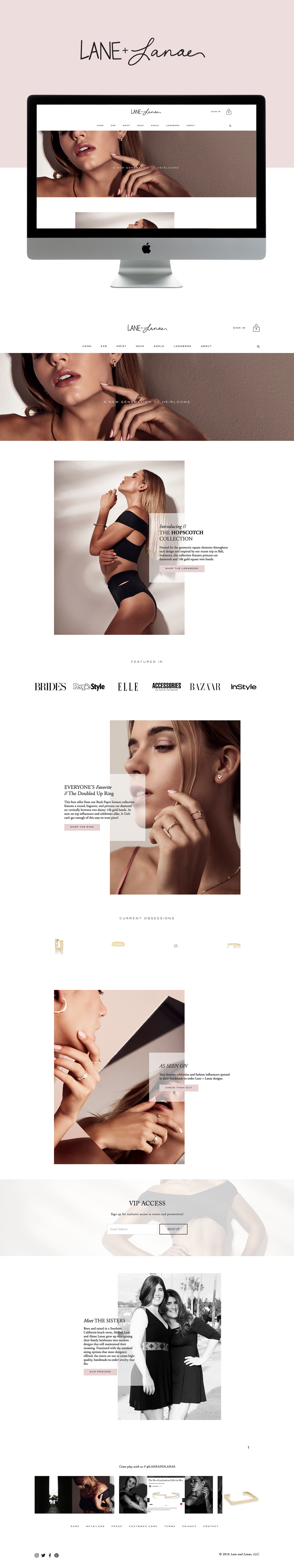 Website Design for High-End Jewelry Brand | Site Design by Go Live HQ