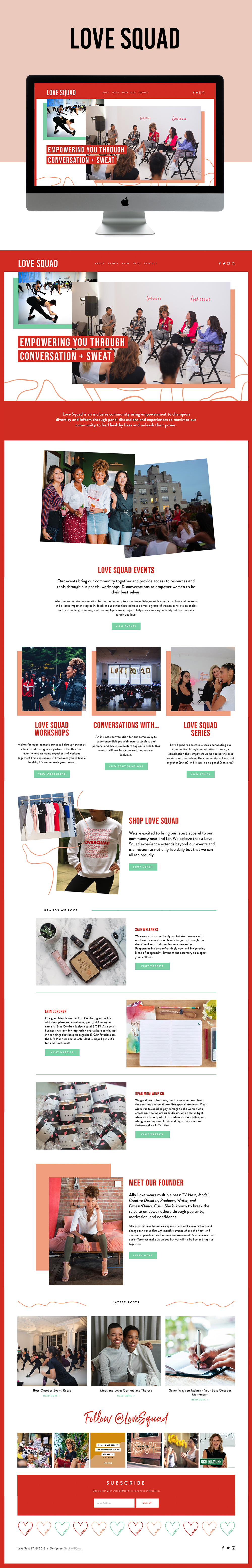 Cheeky, Colorful, Stylish Website Design | Go Live HQ