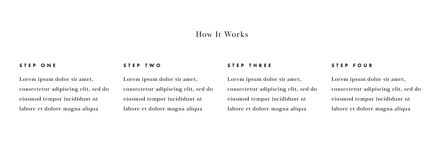 Use Columns To Visually Break Up Blocks Of Text -