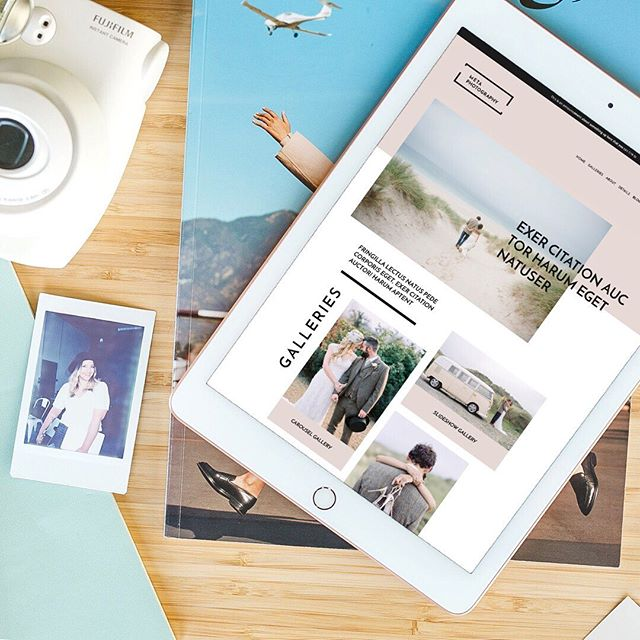 ✨ SNEAK PEEK! Our newest Website Template For Squarespace is hitting the shop NEXT WEEK! This template was designed in partnership with @designaglow, and is crafted specifically for photographers. It's a modern, sleek and minimal design so your photos get to be the focal point. - 🙌🏼 We are so excited for this design! Hint: We'll be giving out a design for FREE next week, so make sure you stay tuned on the feed. In the meantime, tag a photographer that could use this website design and should watch out for the launch!