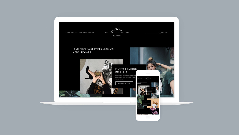 GoLive: Squarespace Website Templates