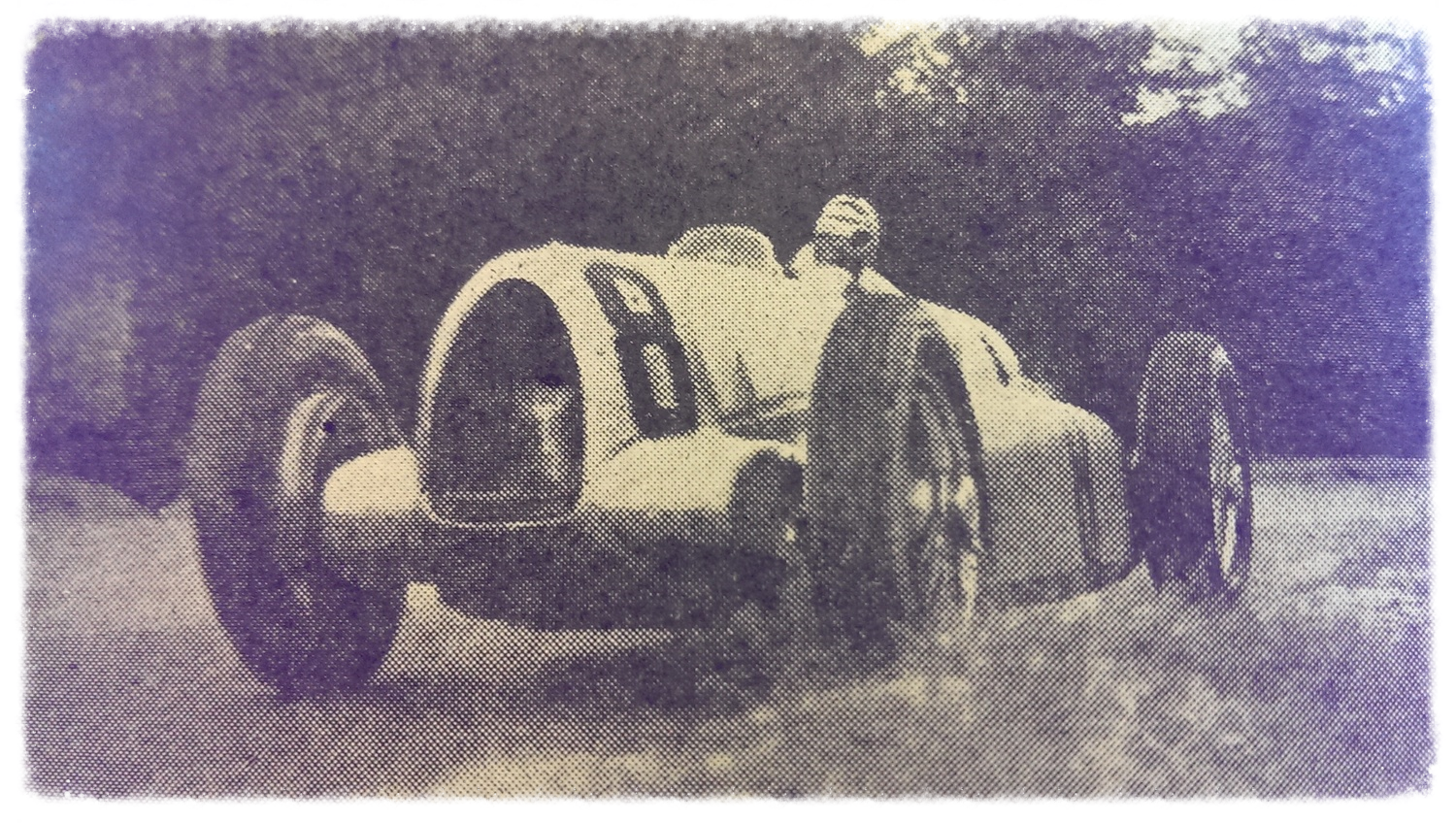 Nuvolari in the Auto Union
