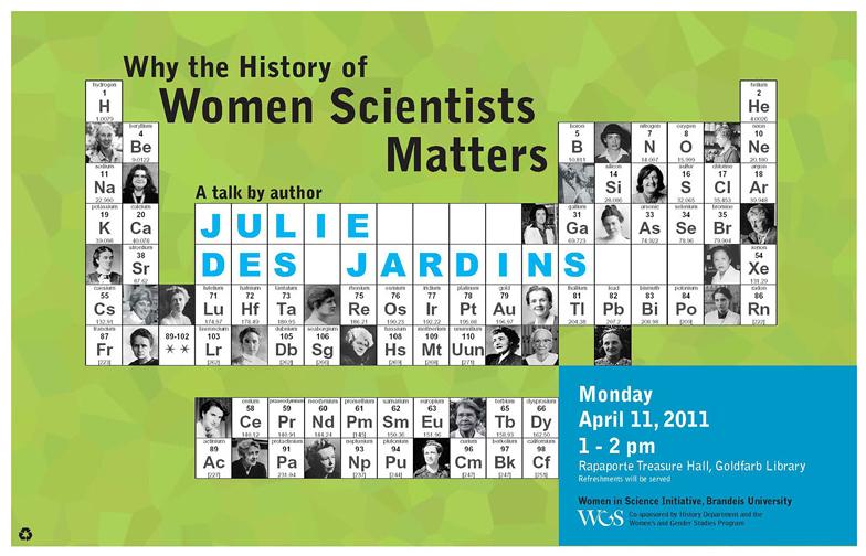 Women Scientists: Author Reading