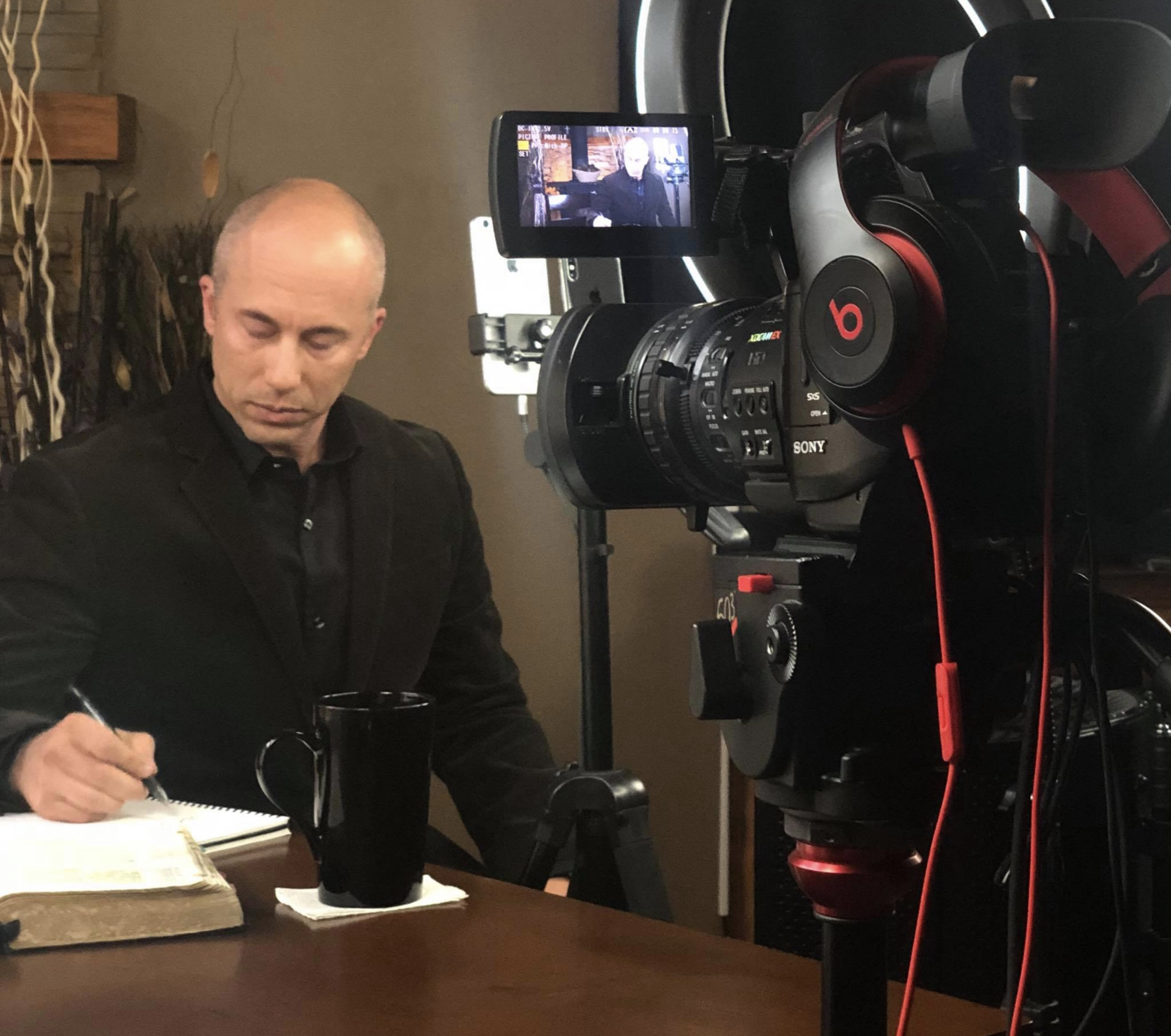 JOIN US EVERY WEEKDAY MORNING LIVE ON FACEBOOK @ 7AM MST - A strong desire for doing a daily morning LIVE Broadcast came alive in my heart. I began simply with some short videos and a live Sunday evening broadcast each week. Then, in January 2018 the Holy Spirit began prompting me each morning with a fresh word to get up and start teaching the Word as I had done for years previously. As a result, we have been doing morning lives most weekday mornings, and we are now approaching our two hundredth episode! This has proven to be a tremendous time of building an online community of Holy Ghost believers, and has been preparing me for the consistency of radio and television.