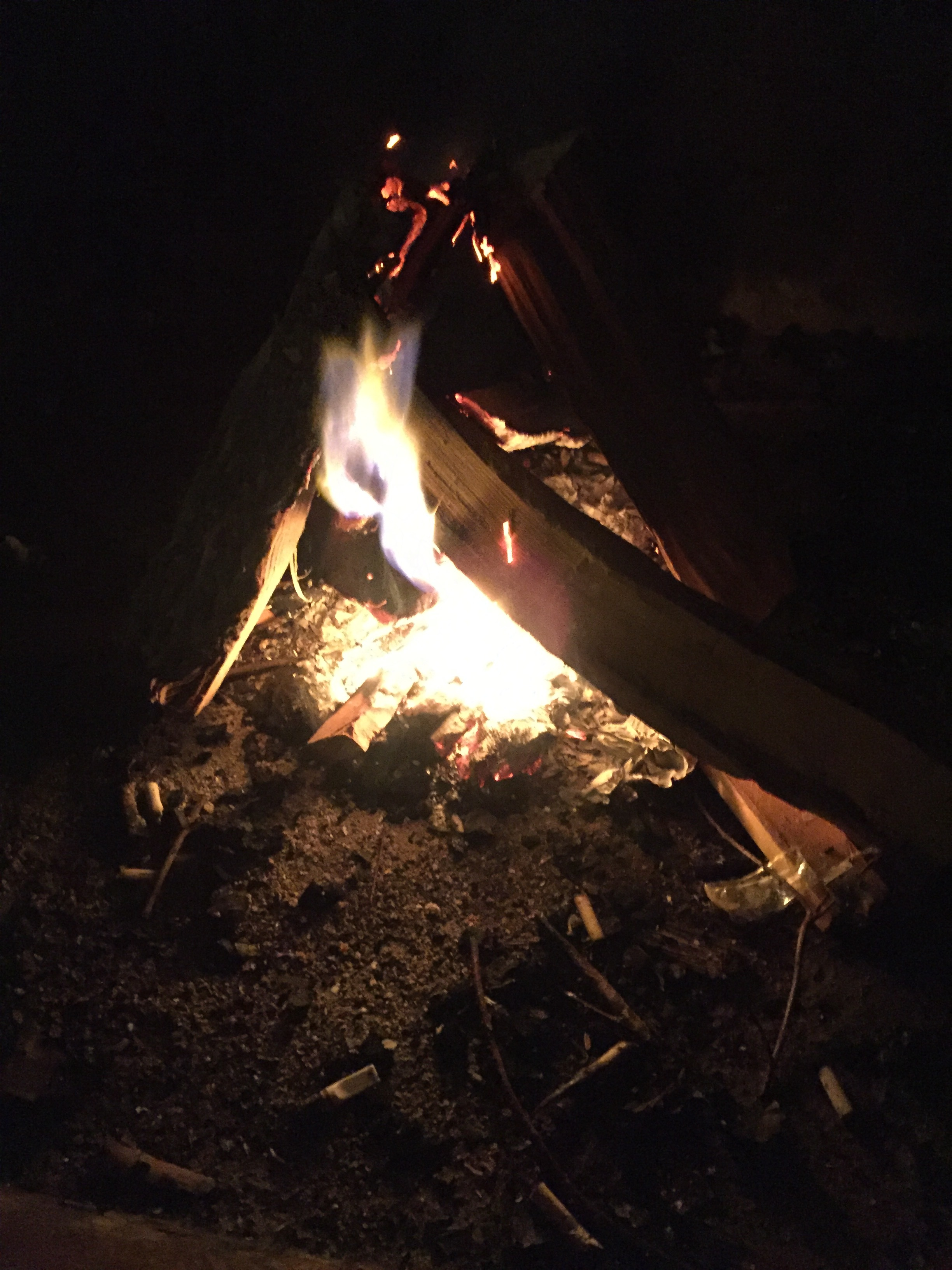 Celebrating the element of fire.
