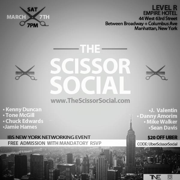 The Scissor Social NYC Barber HerChairHisHair Network Industry