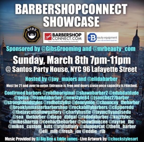 Barbershopconnect Barber Industry Event HerChairHisHair NYC