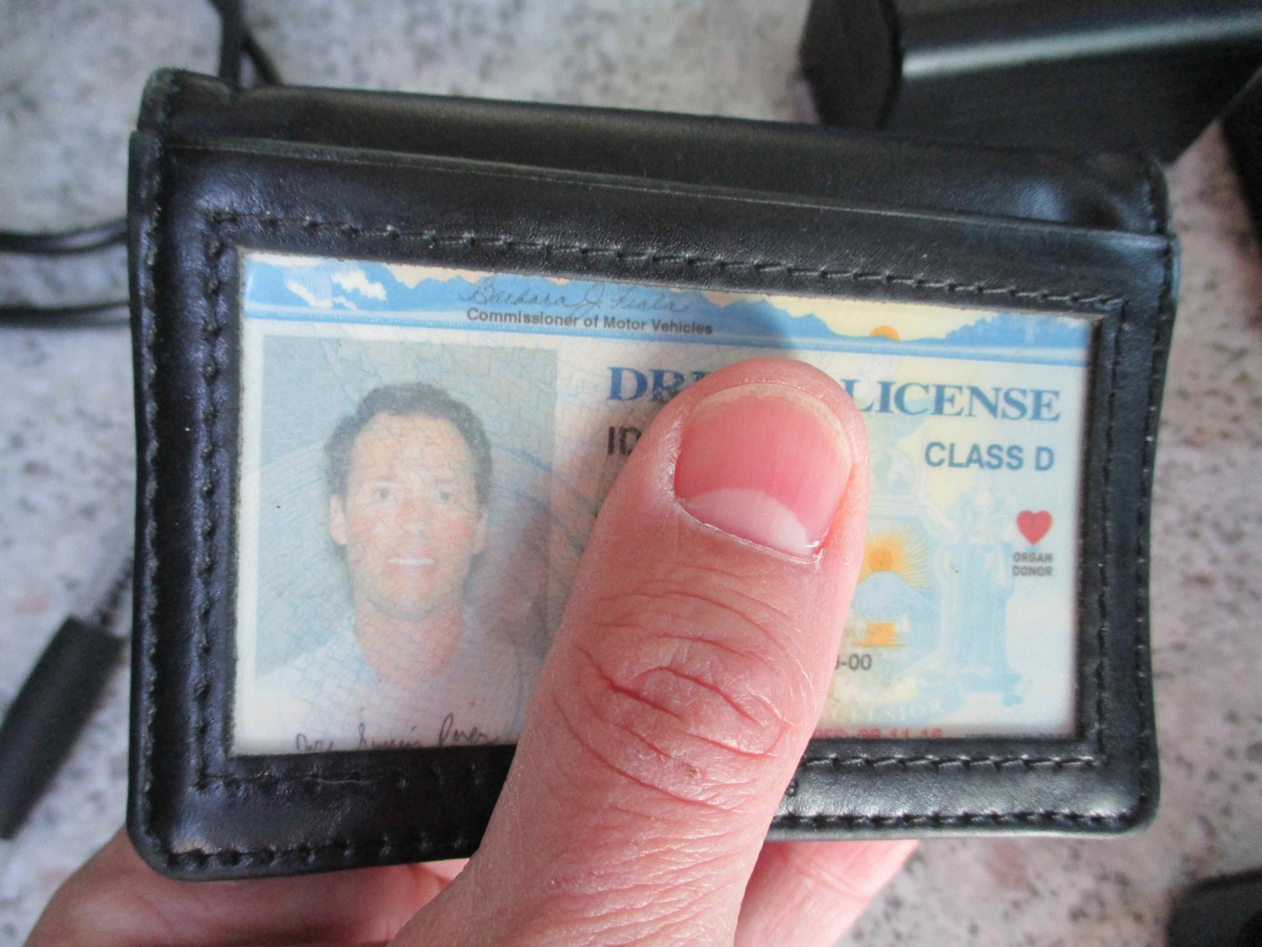 Driver's license in case I get pulled over and to get into federal buildings.