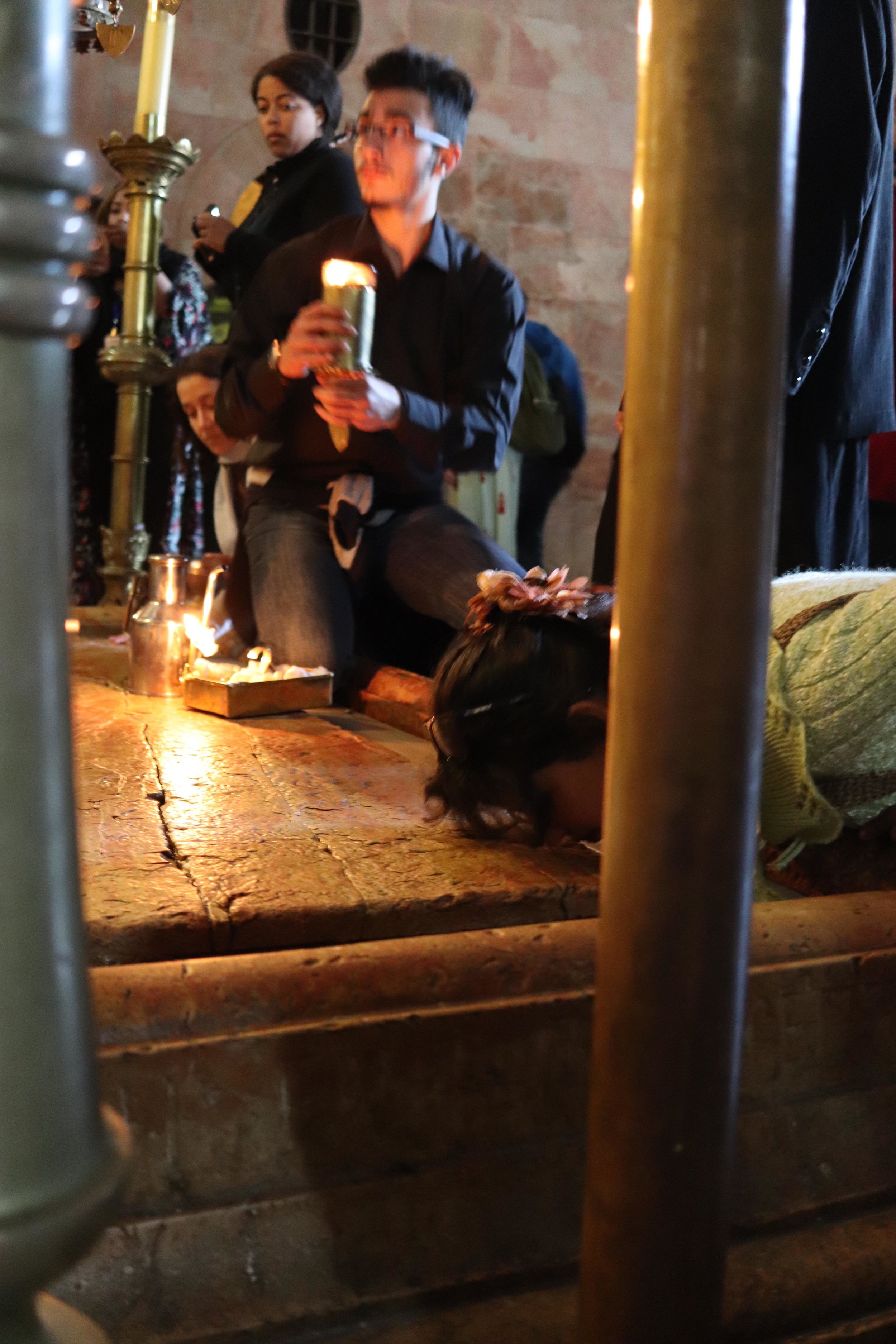 For Christians, the most holy place is the Church of the Holy Sepulchre, built upon the sites where Jesus was crucified, buried and resurrected. The coolest part – you can touch all the sites. No ropes, no guards, no alarms.