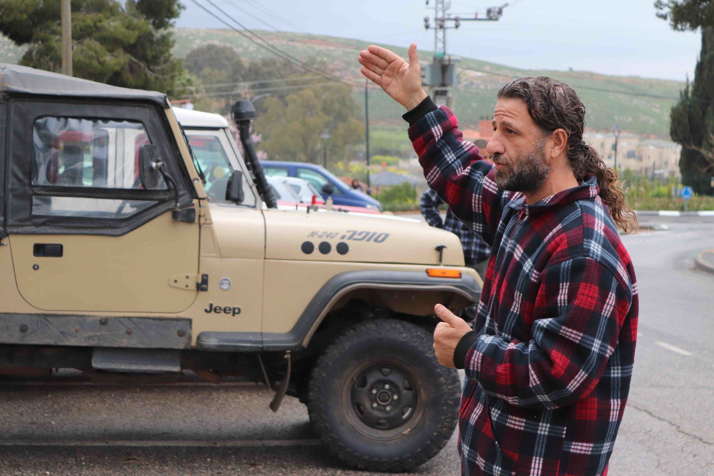 Mother Earth Jeep Tours guide Yaniv Elhadif.