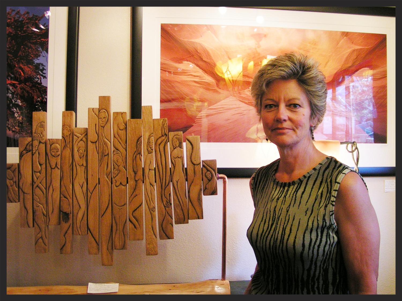 Sculpture-Me and Bar Sculpture.JPG