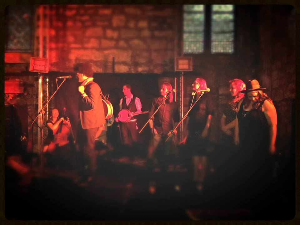 Calvin Arsenia and the Earls of Grey at the Tron Kirk, Edinburgh 2013