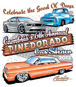 pinedorado-car-tshirt